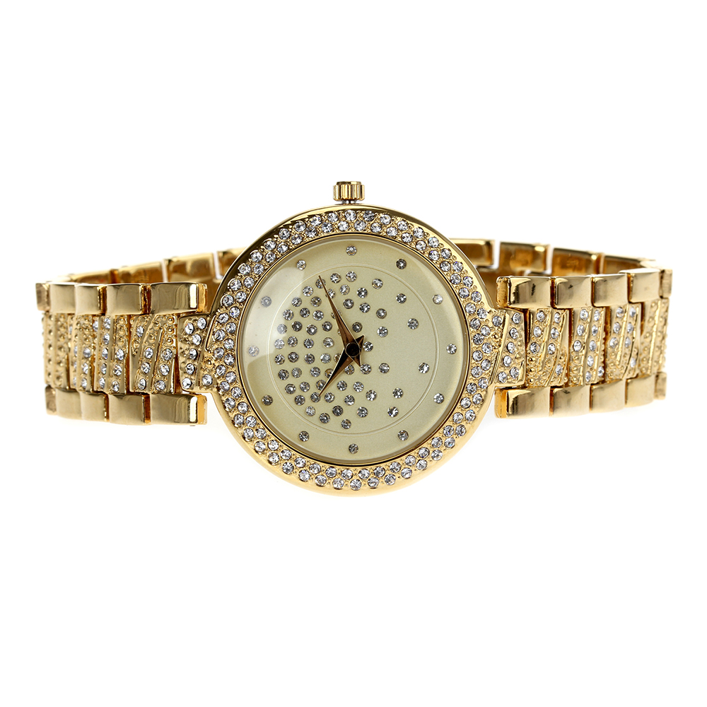 Image 5 - Crystal Nice Watch for women, White and Gold colors, 20cm length Fast shipping Watches Best Gift for mothers birthdayWomens Watches   -