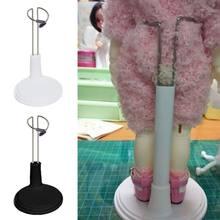 1 pçs plástico boneca stands profissional titular base de exibição titular para urso bonecas brinquedo 15cm 20cm 25cm 35cm 45cm para escolher