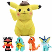 15-30cm Animal Pokemones Plush Stuffed Toys For children Jigglypuff Charmander Gengar Bulbasaur Squirtle plush toys