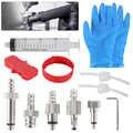 Fahrrad Hydraulische Bremse Bleed Tool Kit für AVID, SRAM, FORMEL, HAYES Mineral Öl Bremse, trichter Set Bike Repair Tool