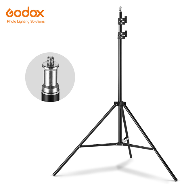2M 1/4 Screw Light Stand Tripod For Photo Studio Softbox Video Flash Umbrellas Reflector Lighting Bakcground Stand