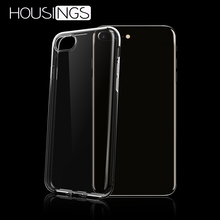 For iPhone 11 Max Transparent Soft TPU Cover 7 8 X XR Ultra Thin Shockproof Phone Case 2019 New