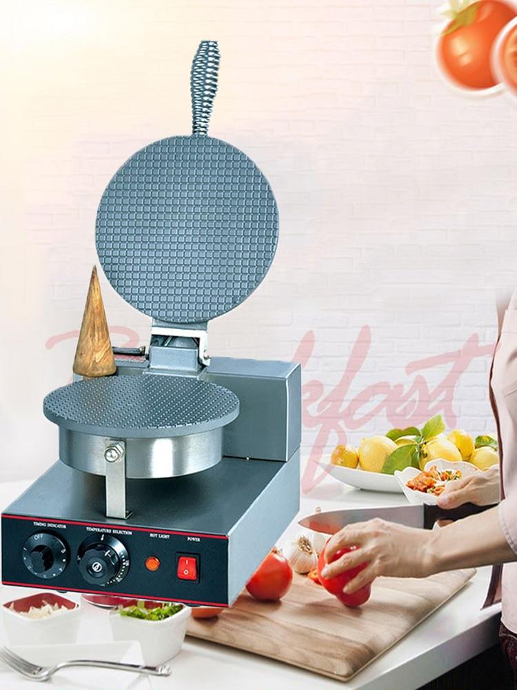 Egg-Cone Ice-Cream-Machine Crispy Commercial ZU-1 Single-Head