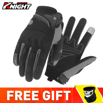 Ridding Gloves Guantes Moto Touch Screen Motorcycle Gloves Mesh Breathable Spring And Autumn Full Finger Gloves Anti-slip 1