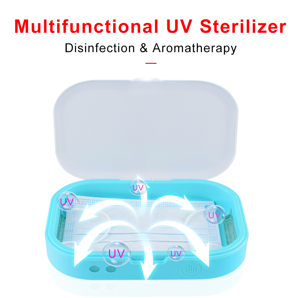 Sterilizer For Manicure Instruments Disinfection Esterilizador Manicure UV LED Nail Tools Nail Tweezers Disinfector Box