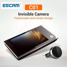 Escam c01 55 дюймовый цифровой ЖК дисплей 35 градусов глазок