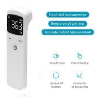 Termómetro infrarrojo sin contacto, medidor de temperatura Digital