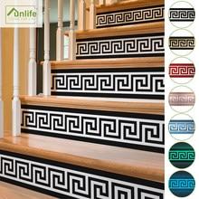 Funlife®20x100cm 8 tarzı merdiven Sticker su geçirmez kendinden PVC yapıştırıcısı merdiven Sticker banyo mutfak merdiven dekor