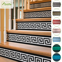 Funlife® 20x100cm 8 Style Stair Sticker Waterproof Self-adhesive PVC Staircase Sticker for Bathroom Kitchen Stairway Decor