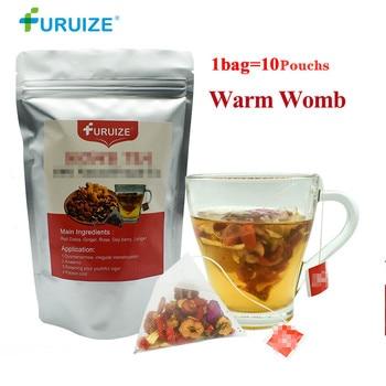 1Bag=10Pouch Furuize Warm Womb Detox Feminine hygiene  Irregular Menstruation Herbal Uterus Cleansing Warming Womb Health Care