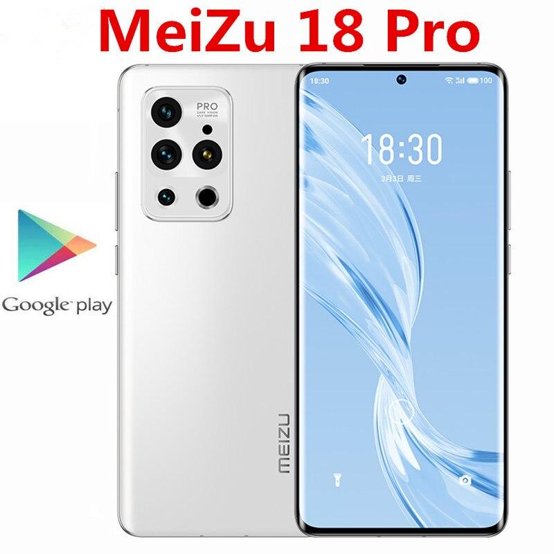 Оригинал, Meizu 18 Pro 5G мобильный телефон 6,7