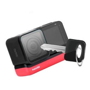 Image 4 - Temperli cam koruyucu kapak kılıf için GoPro git pro Hero5 Hero6 Hero7 Hero 5/6/7 siyah kamera lens LCD ekran koruyucu Film