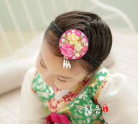 South Korea Original Imported Hair Rope Ancient Ashi Hair Decoration Stage Headdress Latest Kids Hair Accessories for Girls