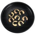 Латунная фурнитура для изготовления сережек с несколькими отверстиями, U-образная Подвеска для штамповки, 20-500 шт., компоненты для подвесок, ...