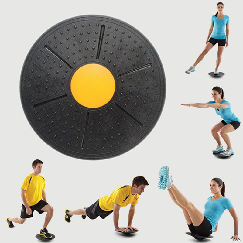 Balance Board Fitness Equipment ABS Twist Boards Support 360 Degree Rotation …