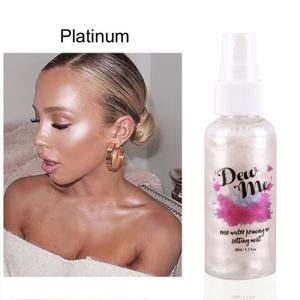 Cosmetics Spray Priming Rose Moisturizing Highlighter Makeup And Bronzer Pearlescent