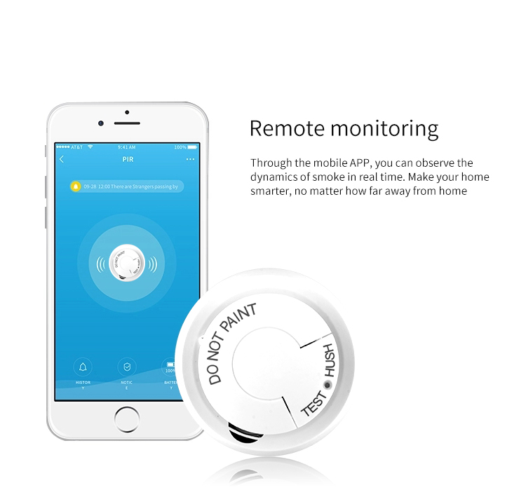 fumaça vida inteligente tuya app