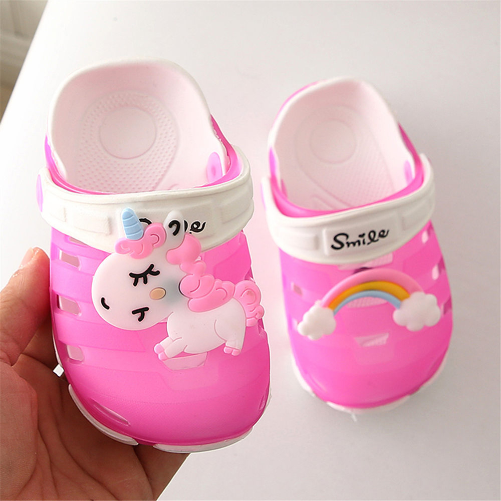 Summer 2020 Children Slippers Toddler Baby Boys Girls Shoes Cute Beach Sandals Cute Shoes Slippers Infant Flat Heels Shoes