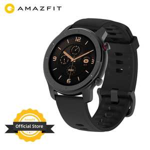 Amazfit Battery Watches 42mm In-Stock Global-Version Android Women's for IOS 5ATM Music-Control