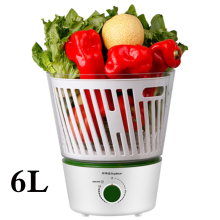 6L Fruits and Vegetables Filter Home Detox Machine Ingredients Cleaner Disinfection Washing Kitchen Vegetables Cleaning Tools