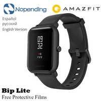 AMAZFIT Bip Lite inteligentny zegarek wiele sportów globalna edycja gotowości do 45 dni pulsometr nowy Monitor aktywności fizycznej
