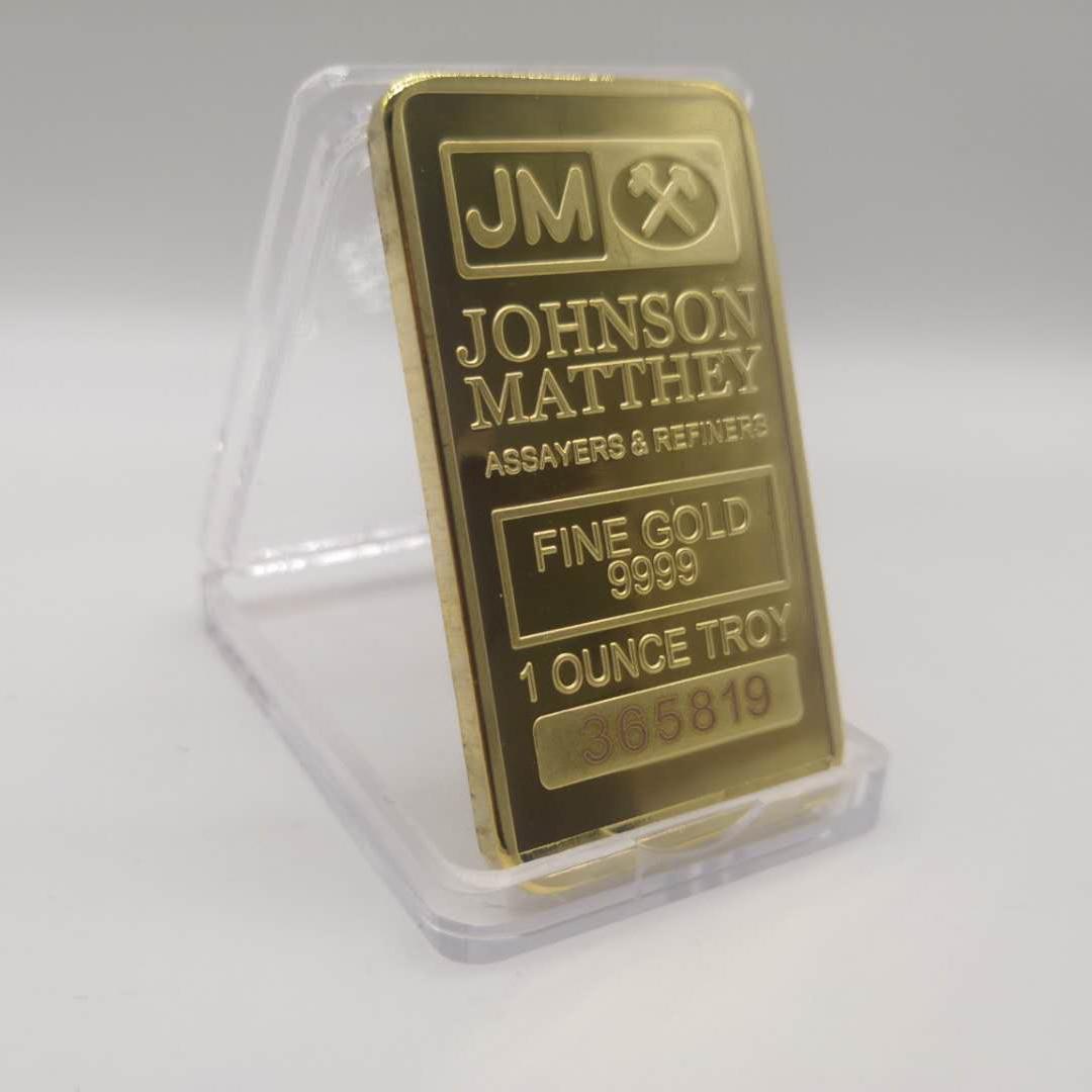 Johnson Matthey Jm Bar 1 Oz 24k Gold