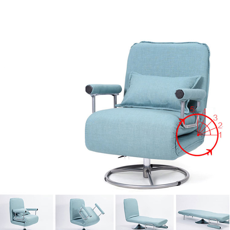 Office Home Single Couch Foldable Couch Bed Liftable Home Computer Chair Washable  Folding Sofa Bed Lift