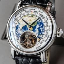 Real st8000 Tourbillon Watch Men Mechanical Movement Luxury