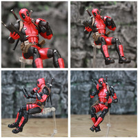 Deadpool Exclusive Action Figure with Custom Weapons 6inch. 6