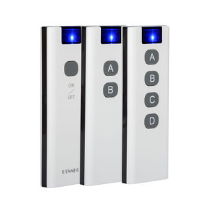 Image 1 - KTNNKG 433Mhz 200m wireless remote control with 1/2/4/6/8/10 buttons, wall mount bracket, smart home.