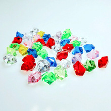50/100/300PCS 13MM Mix Colors Acrylic Stone Home Decorations Crafts Fish Tank Decoration