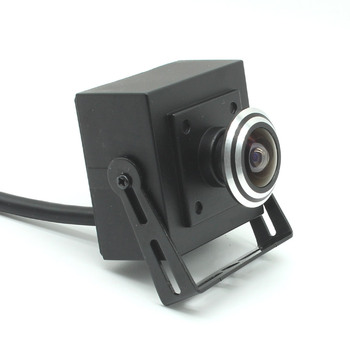 Mini box HD 1080P AHD CVBs TVI CVI 4in1 Sony IMX323+NVP2441 Starlight Low illumination Security CCTV Camera fisheye
