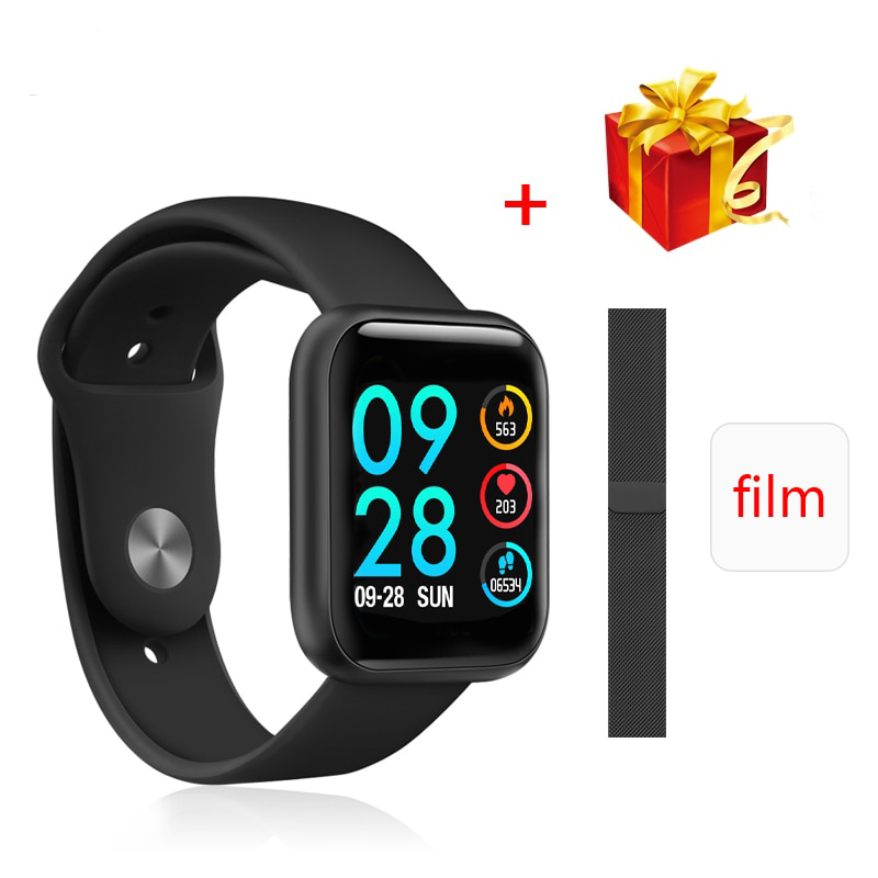 2020 Upgraded Version P80 Smart Watch Women IP68 Waterproof Smartwatch Heart Rate Blood Pressure For IPhone Samsung Huawei