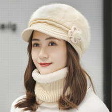 Hat Winter Women's Beret Warm Korean-Style Autumn Fashionable And Duck-Tongue-Short All-Match
