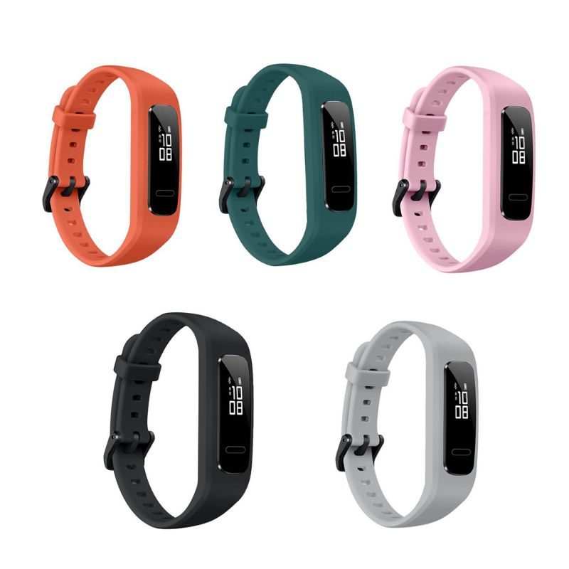 Wrist Band Strap Watchband TPU Adjustable Bracelet Sports Replacement For Huawei 3E/ Honor Band 4 Running Version