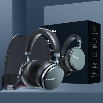 Bluedio V2 Wireless headphone bluetooth headset PPS12 drivers HIFI headphone with microphone high-end headphone for phone