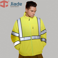 Jiade Men's Garter jiade thickening safety clothes reflective clothing outerwear workwear work wear tooling