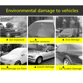 Universal Car Covers Size S/M/L/XL/XXL Indoor Outdoor Full Auot Cover Sun UV Snow Dust Resistant Protection Cover For Sedan SUV
