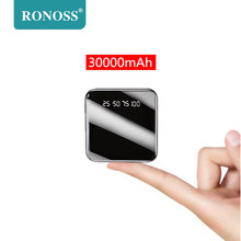 Mini 30000mAh Power Bank Portable Charging Powerbank 30000 S