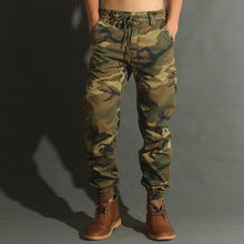 Men Fashion Streetwear Casual Camouflage Jogger Pants Tactical Military Trousers Men Cargo Pants for Droppshipping(China)