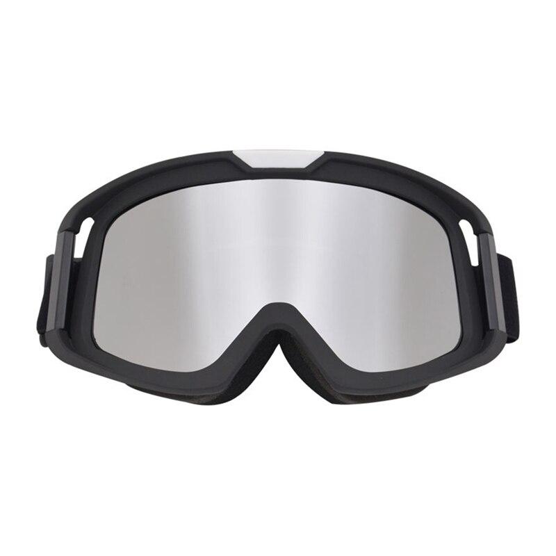 UV400 Windproof AdjustableSki Goggles Breathable Outdoor Protective Sports Motorcycle Riding Helmet Glasses Eyewearun
