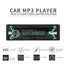 1 Din Keylight samochodowy odtwarzacz MP3 samochodowy odtwarzacz multimedialny odtwarzacz MP3 radio stereo Bluetooth AUX stereofoniczne radio fm USB w desce rozdzielczej tanie tanio cafele 12 v Angielski Black