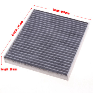 Image 3 - Car Cabin Air Filter 87139 58010 Fit For Toyota Alphard Model 2015 Today 3.5L Filter Car Accessoris