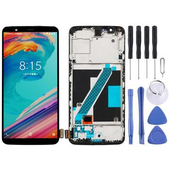 For OnePlus 5T display lcd touch Screen Assembly replacement for OnePlus 5T A5010 lcd display screen module neothinking lcd display laptop lp140wd2 tl e2 touch screen for lenovo x1 carbon 3444 25u lcd screen matrix replacement panel