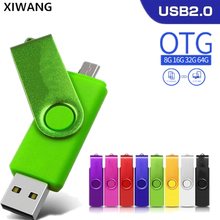 New Pendrive 128gb Usb Flash Drive 64gb Flash Disk 8gb 32gb 4gb OTG Pen Drive 16gb Phone OTG flash memory stick Free custom logo цена и фото