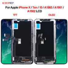 """For Apple iPhone X Ten 10 A1865 A1901 A1902 LCD Display Touch Screen Digitizer Assembly 5.8"""" Replacement Parts For iPhone X lcd"""