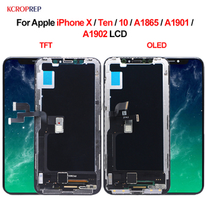 """Image 1 - For Apple iPhone X Ten 10 A1865 A1901 A1902 LCD Display Touch Screen Digitizer Assembly 5.8"""" Replacement Parts For iPhone X lcd"""