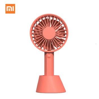 XIAOMI Usb Mini Fold Electric Portable Fans Containing Small Fans Originalities Small Electrical Ventilator Desktop