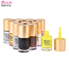 BeautyBigBang 6 bottles Nail Stamping Polish Set Printing Varnish Lacquer for Nail Art Stamping Plate Accessories Polish Set born pretty 6 bottles shimmer nail stamping polish set 15ml nail art varnish nail art polish 23200