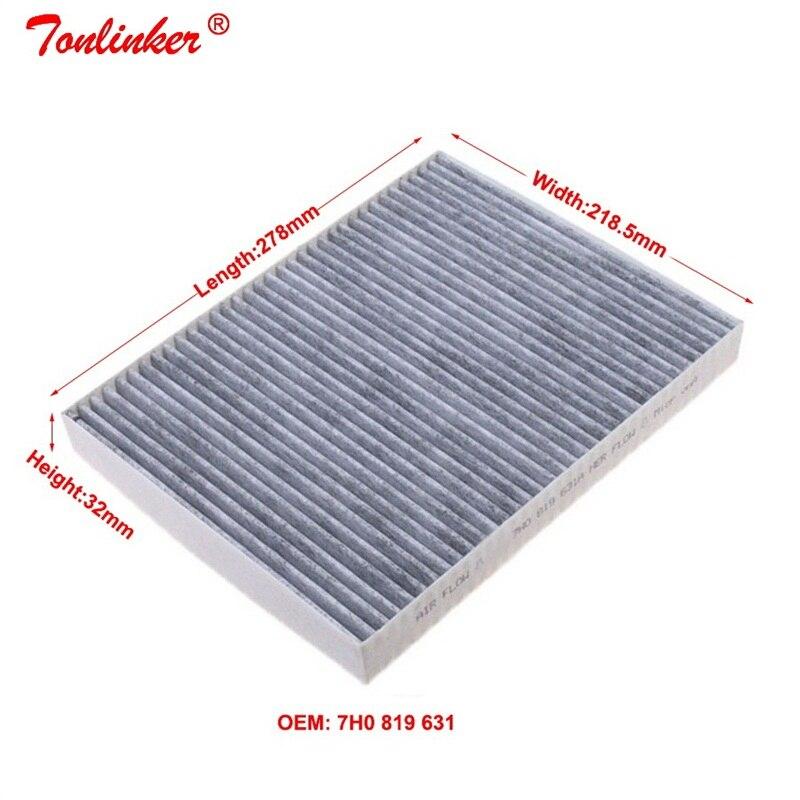 pces construídos no filtro de condicionamento de ar do carbono